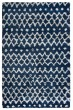 Product Image of Shag Navy, Grey (AN-692A) Area Rug