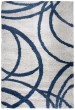 Product Image of Shag Grey, Navy (AN-703A) Area Rug