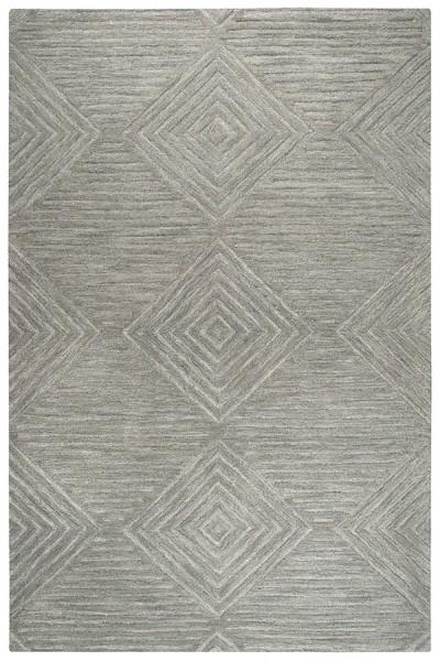 Grey (A) Solid Area Rug