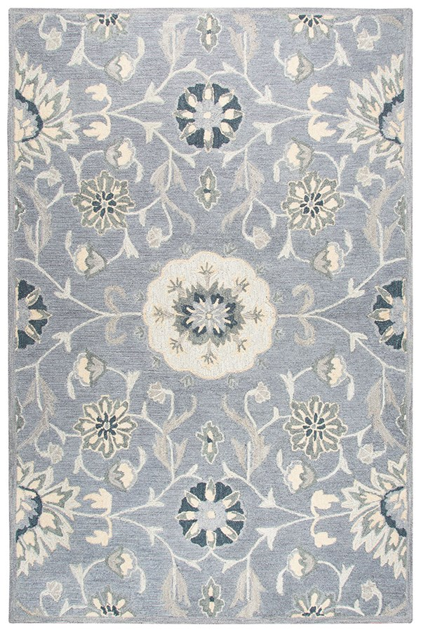 Grey, Tan, Taupe (A) Transitional Area Rug