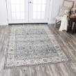 Product Image of Grey, Ivory, Taupe, Sage Green Traditional / Oriental Area Rug