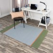 Product Image of Grey, Green (FT-852A) Striped Area Rug
