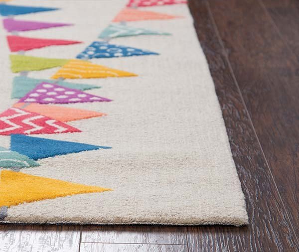 Ivory (PD-586A) Children's / Kids Area Rug