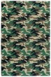 Product Image of Green, Brown (PD-207B) Children's / Kids Area Rug