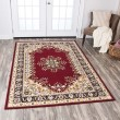 Product Image of Red, Beige, Black, Ivory Traditional / Oriental Area Rug