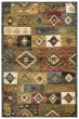 Product Image of Gold, Red, Green, Blue, Ivory, Grey, Brown Southwestern / Lodge Area Rug