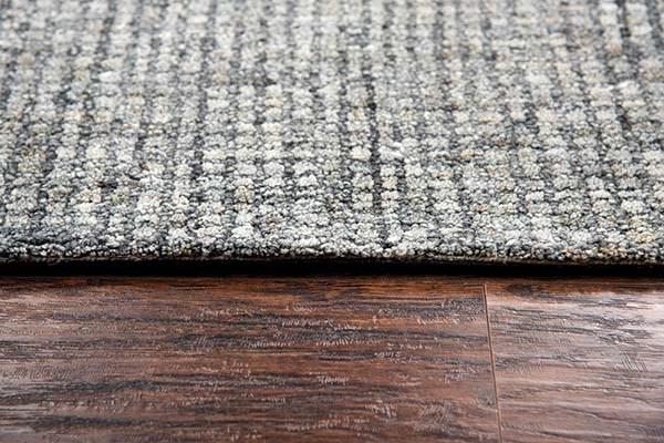 Gray, Dark Gray (TAL-106) Casual Area Rug