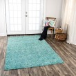 Product Image of Teal, Beige (TAL-107) Casual Area Rug