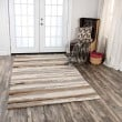 Product Image of Tan, Beige, Brown (VOG-101) Abstract Area Rug