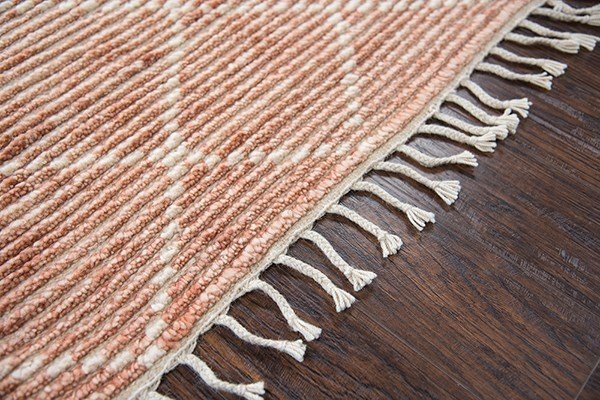 Rust, Natural Moroccan Area Rug