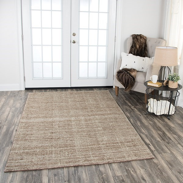 Light Brown, Brown (GH-723A) Casual Area Rug
