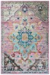 Product Image of Blue, Grey, Pink Bohemian Area Rug