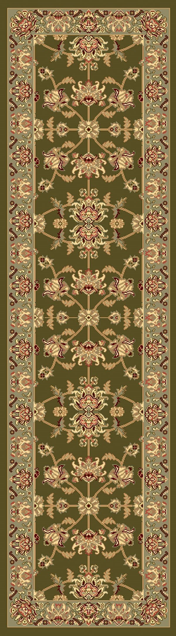 Moss Traditional / Oriental Area Rug