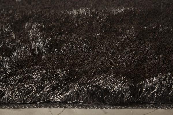 Steel Grey Shag Area Rug