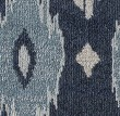 Product Image of Blue, Ivory (A) Ikat Area Rug