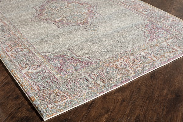 Gray (A) Traditional / Oriental Area Rug