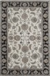 Product Image of Ivory, Charcoal  Traditional / Oriental Area Rug