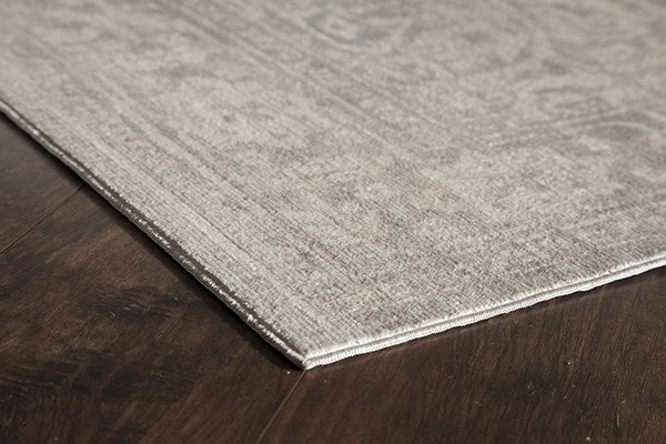 Gray, Rose (A) Traditional / Oriental Area Rug