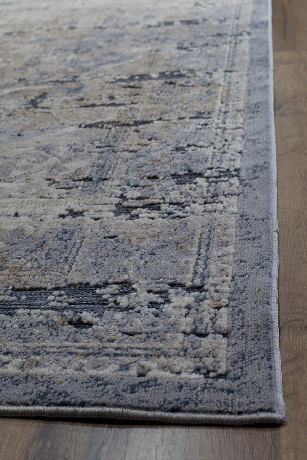 Blue, Navy (A) Vintage / Overdyed Area Rug