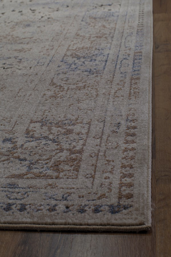 Tan, Taupe (A) Vintage / Overdyed Area Rug