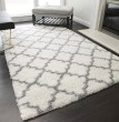 Product Image of Ivory, Gray (A) Shag Area Rug