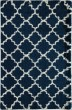 Product Image of Shag Navy, Ivory (D) Area Rug