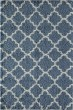 Product Image of Shag Light Blue, Ivory (F) Area Rug