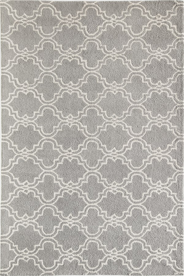 Grey (27059) Moroccan Area Rug