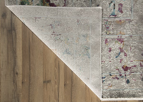 Grey, Pink (A) Vintage / Overdyed Area Rug