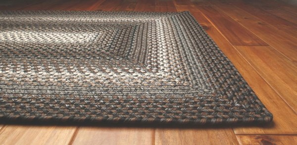 Black, Grey, Slate Outdoor / Indoor Area Rug