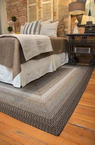Black, Grey, Slate Outdoor / Indoor Area Rug