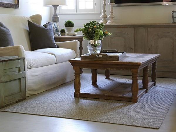 Light Grey Outdoor / Indoor Area Rug