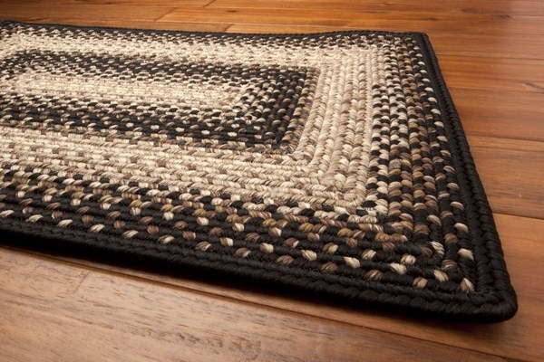 Black Country Area Rug