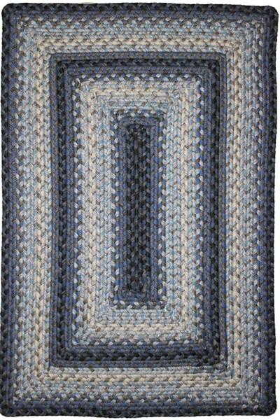 Blue, Grey Outdoor / Indoor Area Rug