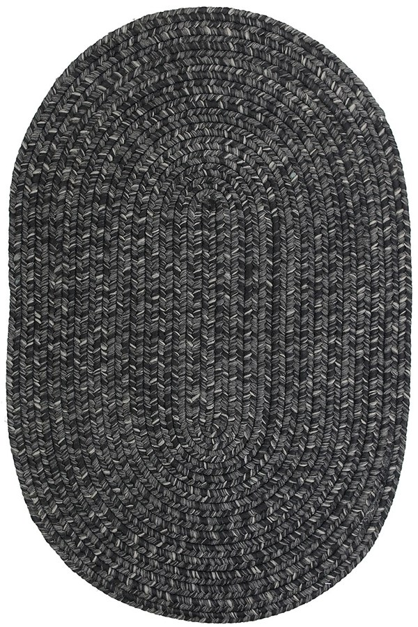 Black, Grey Outdoor / Indoor Area Rug
