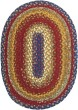Product Image of Blue, Burgundy, Mustard Country Area Rug