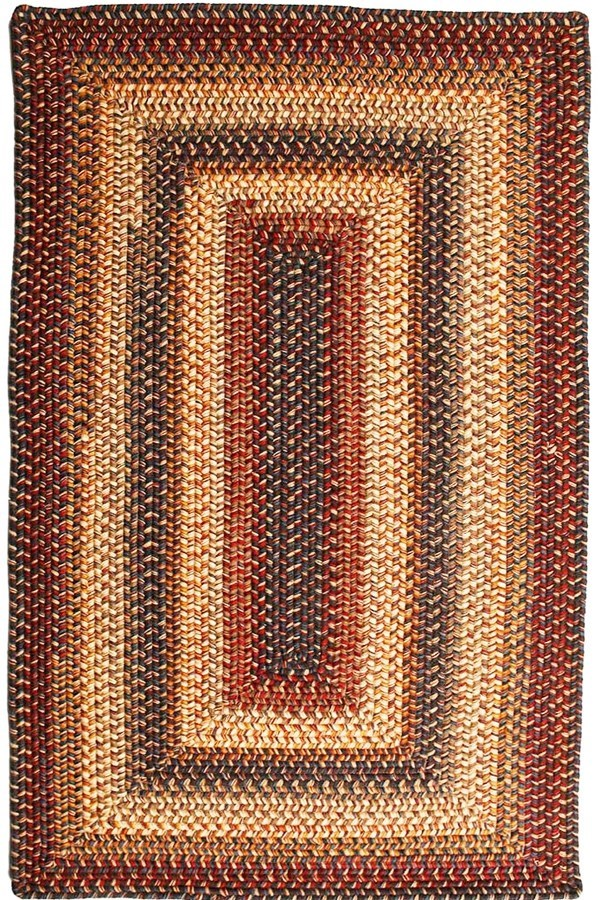 Cambridge (Blue, Burgundy, Cream) Country Area Rug