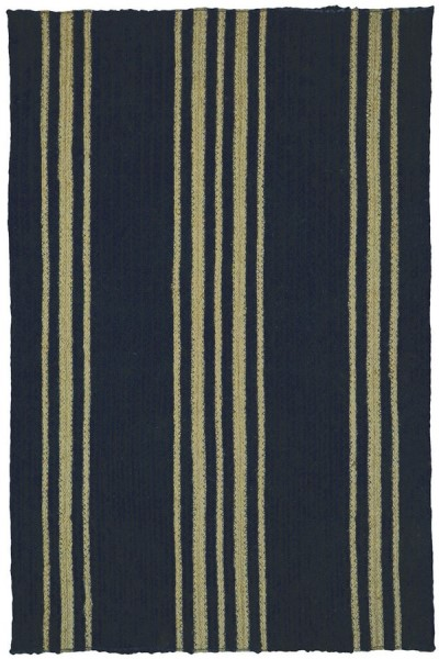 Smith Black Country Area Rug