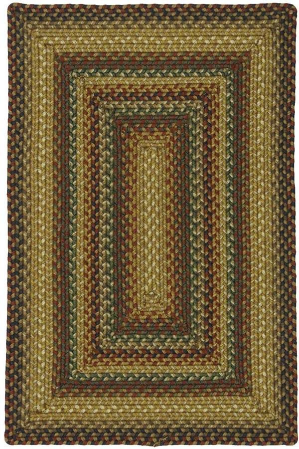 Gold, Brown, Beige Outdoor / Indoor Area Rug