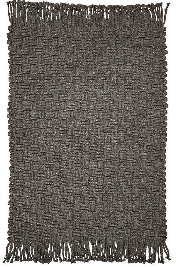 Dark Brown Outdoor / Indoor Area Rug