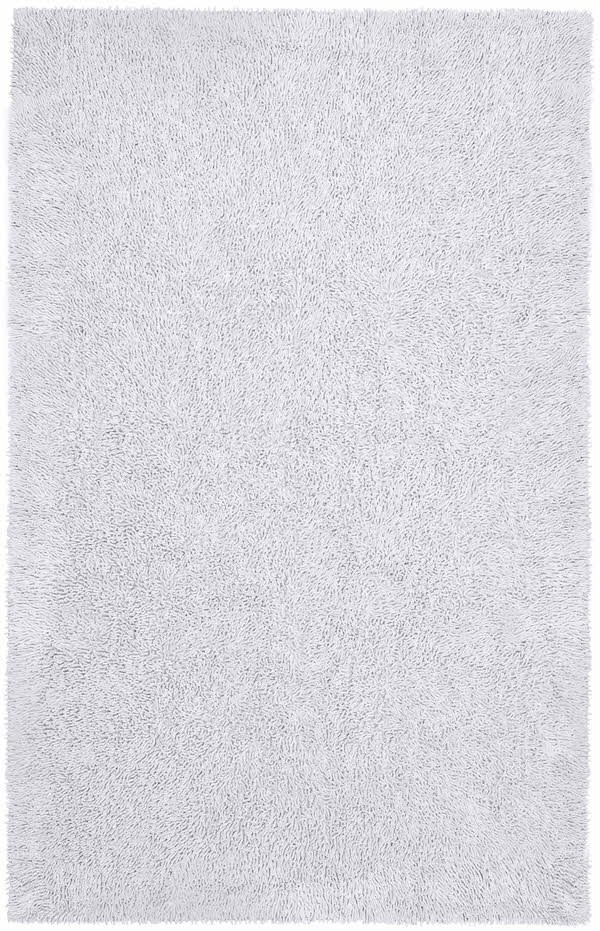 White (CHS-06) Solid Area Rug