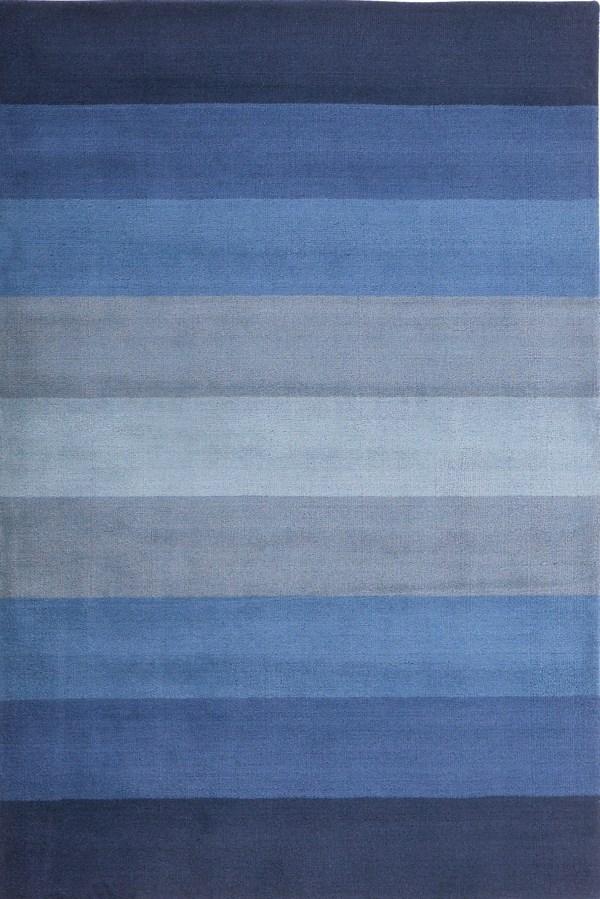 Blue (CT-00) Striped Area Rug