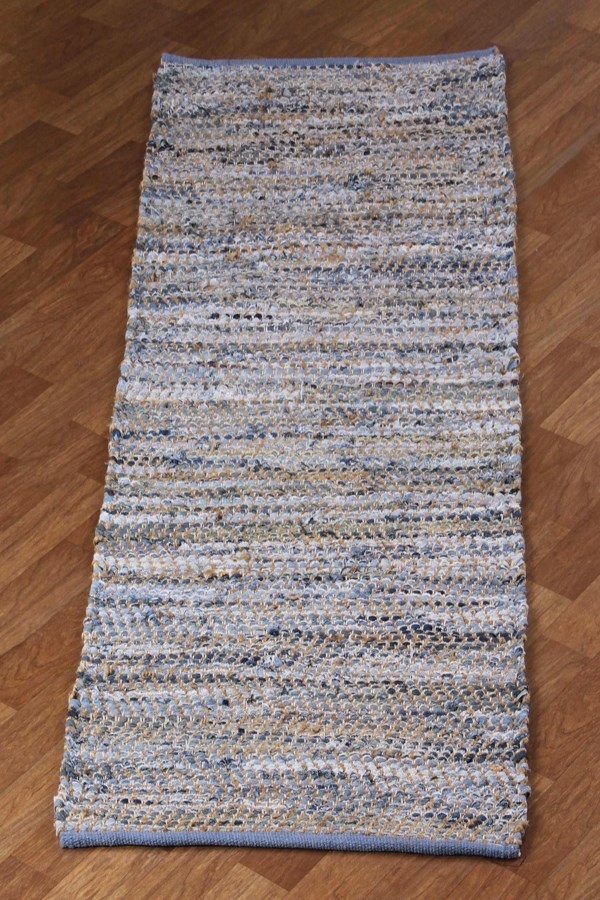 Blue (DH-01) Casual Area Rug