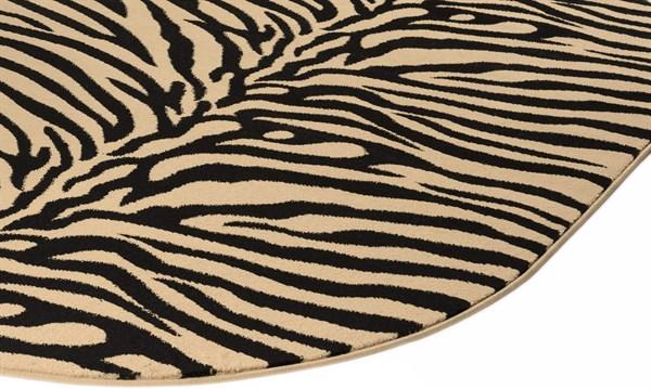 Beige, Black (ELG-5162) Animals / Animal Skins Area Rug