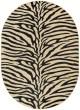 Product Image of Beige, Black (ELG-5162) Animals / Animal Skins Area Rug