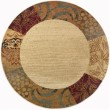 Product Image of Beige, Brown, Red (ELG-5202) Bordered Area Rug