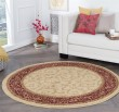 Product Image of Ivory, Red, Green Traditional / Oriental Area Rug