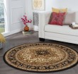 Product Image of Ivory, Gold, Black, Red, Mossy Green, Tan, Blue Traditional / Oriental Area Rug