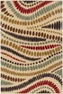 Product Image of Beige, Red, Black (LGN-4512) Abstract Area Rug