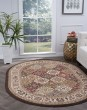 Product Image of Beige, Red, Black (LGN-4588) Traditional / Oriental Area Rug